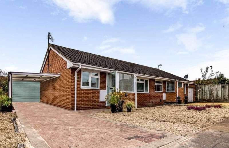 2 Bedrooms Bungalow for sale in Haig Close, Upper Stratton, Swindon