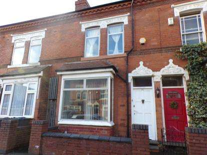3 Bedrooms Terraced House for sale in Fashoda Road, Selly Park, Birmingham, West Midlands