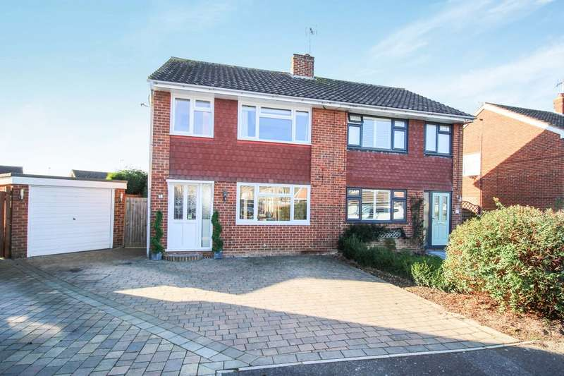 3 Bedrooms Semi Detached House for sale in Ashurst Close, Horsham