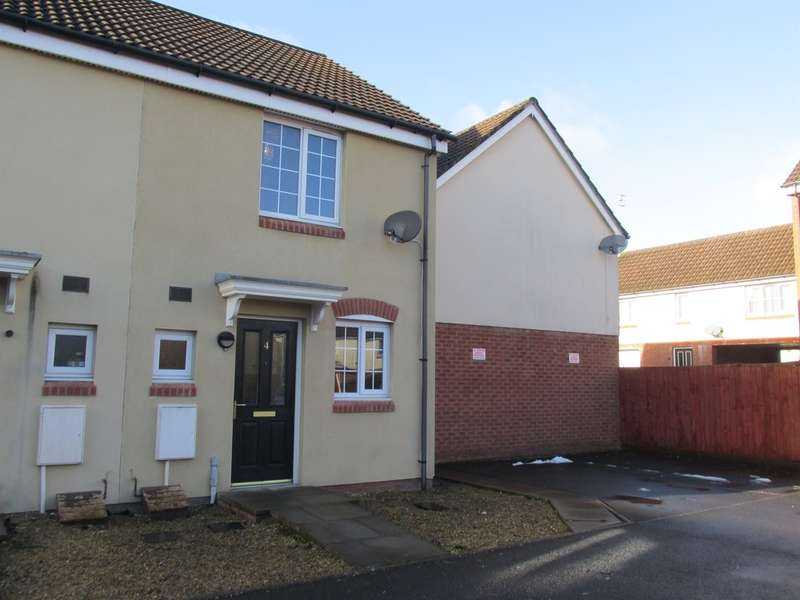 2 Bedrooms Semi Detached House for sale in Meadow Close, Merthyr Tydfil