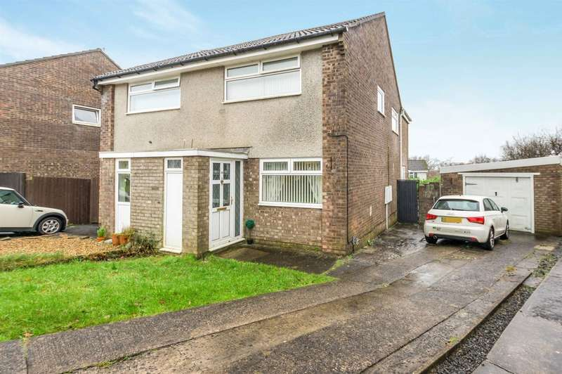 3 Bedrooms Semi Detached House for sale in Heol Yr Wylan, Parc Gwern Fadog, Swansea