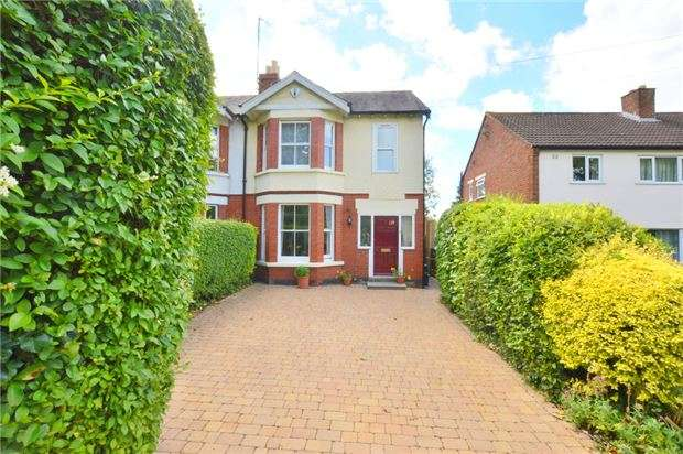 3 Bedrooms Semi Detached House for sale in Leckhampton Road, CHELTENHAM, Gloucestershire, GL53 0DQ