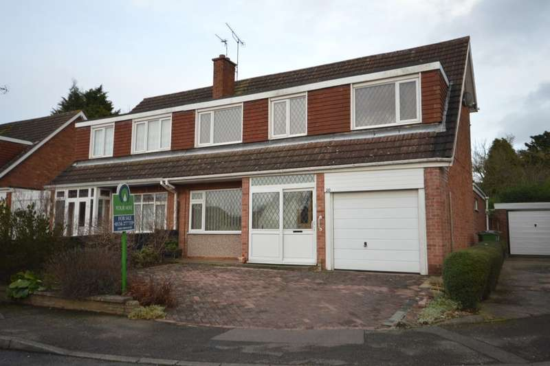 3 Bedrooms Semi Detached House for sale in Nuthall Grove, Glen Parva, Leicester, LE2