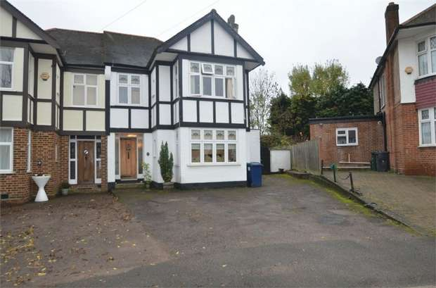3 Bedrooms Semi Detached House for sale in South Dene, Mill Hill, NW7, London