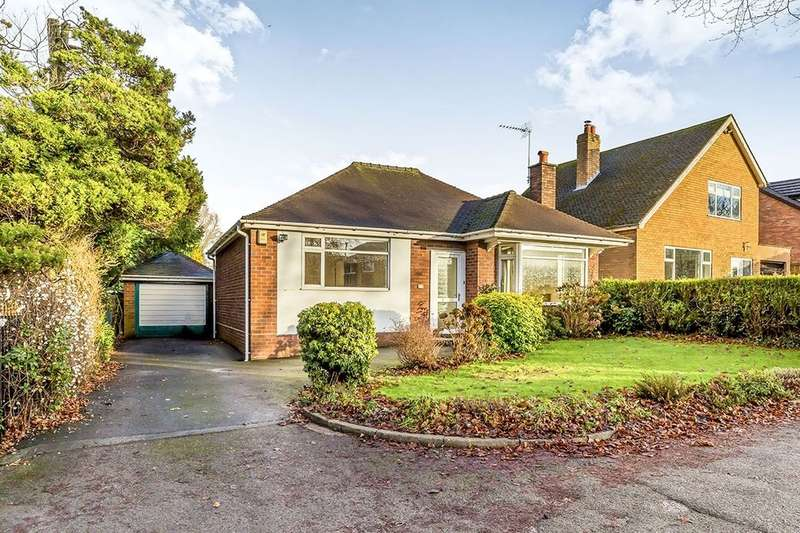 2 Bedrooms Detached Bungalow for sale in Chester Road, Holmes Chapel, Crewe, CW4