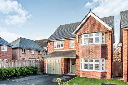 4 Bedrooms Detached House for sale in Balsam Road, West Timperley, Altrincham, Greater Manchester