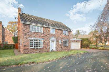 4 Bedrooms Detached House for sale in Blenheim Close, Wilmslow, Cheshire, .