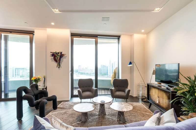2 Bedrooms Flat for sale in Riverwalk, Westminster, SW1P