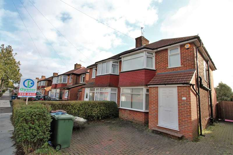 3 Bedrooms Semi Detached House for sale in Broadcroft Avenue, Stanmore