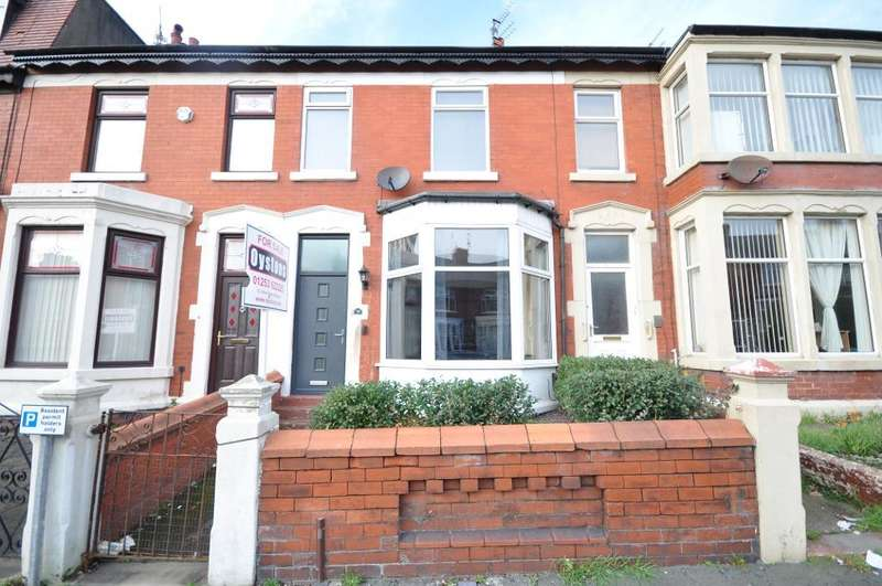 3 Bedrooms Terraced House for sale in Westmorland Avenue, Blackpool, Lancashire, FY1 5PG
