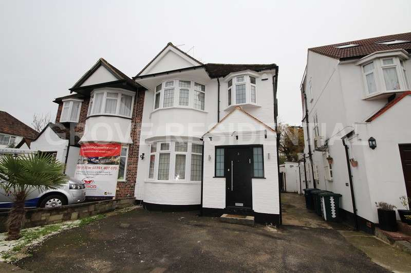 3 Bedrooms Semi Detached House for sale in Brook Avenue, Edgware
