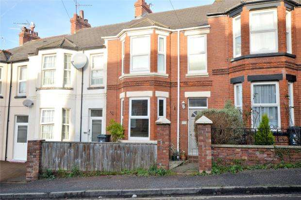 3 Bedrooms Terraced House for sale in Ryll Grove, Exmouth, Devon