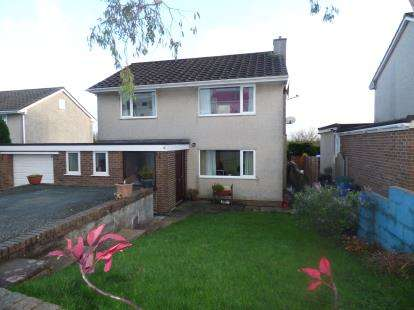 4 Bedrooms Detached House for sale in Stad Bryn Golau, Tynygongl, Benllech, Anglesey, LL74