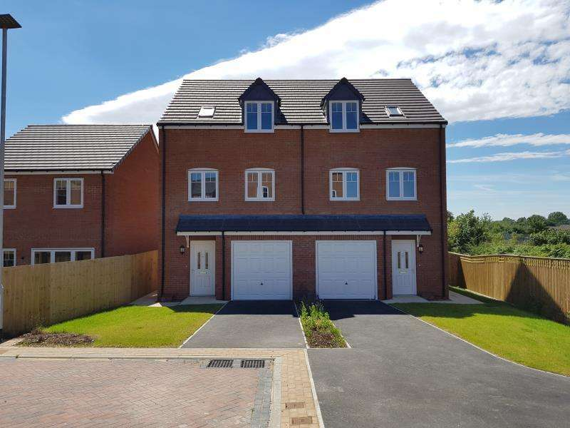 4 Bedrooms Semi Detached House for sale in PLOT 2 - THE HORTON, MOORE PARK, HEALDFIELD COURT, CASTLEFORD, WF10 4TU