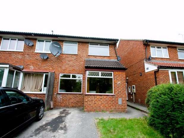 3 Bedrooms Semi Detached House for rent in Eston Court, Bradville, Milton Keynes, Buckinghamshire