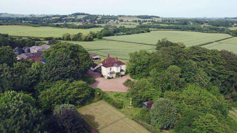 5 Bedrooms Detached House for sale in Stainsby House Farm, Ashby Puerorum