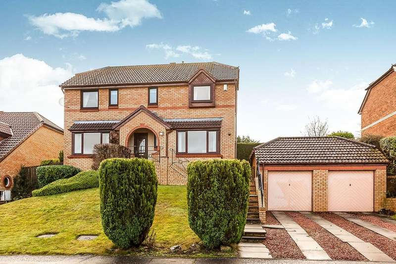 4 Bedrooms Detached House for sale in Glen Shiel Grove, Dunfermline, KY11