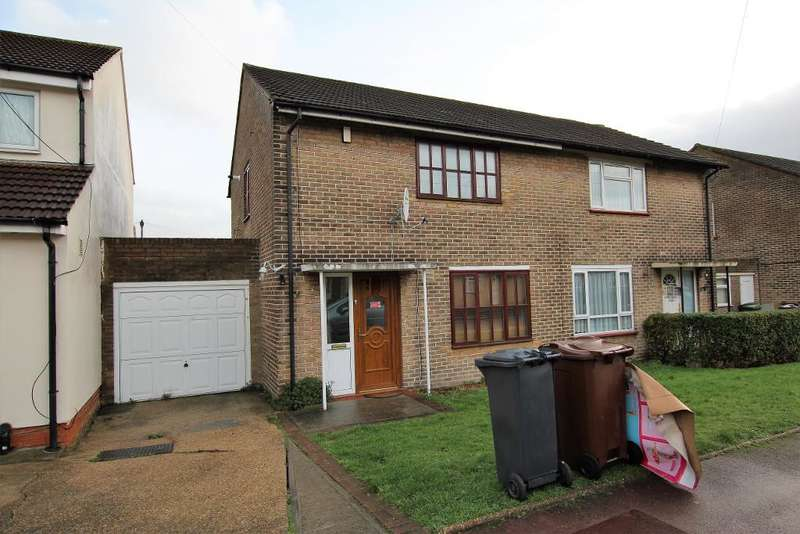 2 Bedrooms Semi Detached House for sale in Bosworth Road, Dagenham, Essex, RM10 7NU