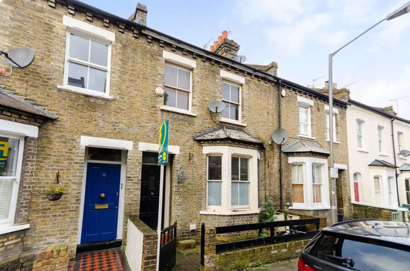 2 Bedrooms Terraced House for sale in Wadham Road, Putney, SW15