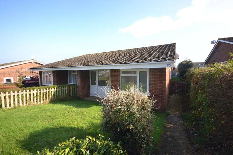 3 Bedrooms Semi Detached Bungalow for rent in Yarborough Close, Godshill