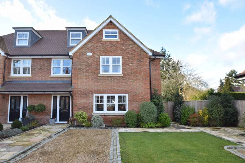 4 Bedrooms Semi Detached House for sale in Dorneywood Close, Burnham, SL1
