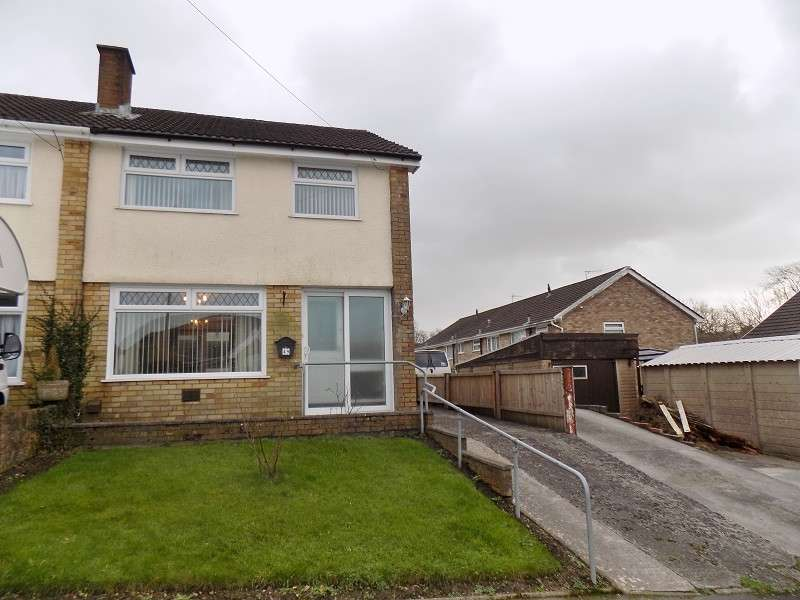3 Bedrooms Semi Detached House for sale in Glannant Way, Cimla, Neath, Neath Port Talbot. SA11 3YP