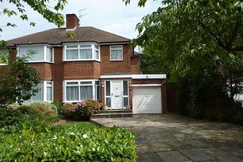 3 Bedrooms Semi Detached House for sale in Bullescroft Road, Edgware