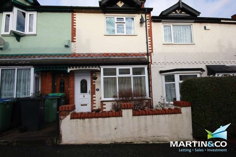 2 Bedrooms Terraced House for sale in Dunsford Road, Bearwood, B66
