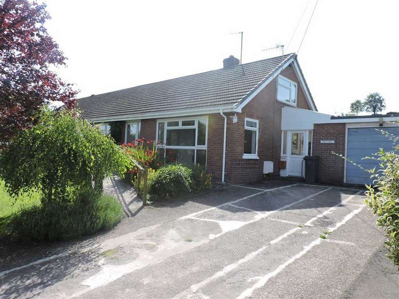 2 Bedrooms Semi Detached Bungalow for sale in Falcondale Drive, Lampeter