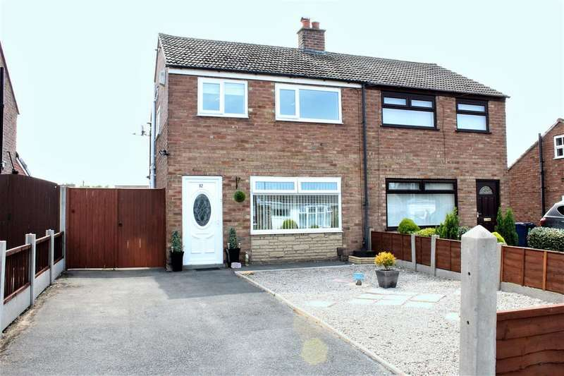 3 Bedrooms Semi Detached House for rent in Old Hall Drive, Bamber Bridge, Preston