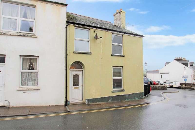 2 Bedrooms End Of Terrace House for sale in Honestone Street, Bideford