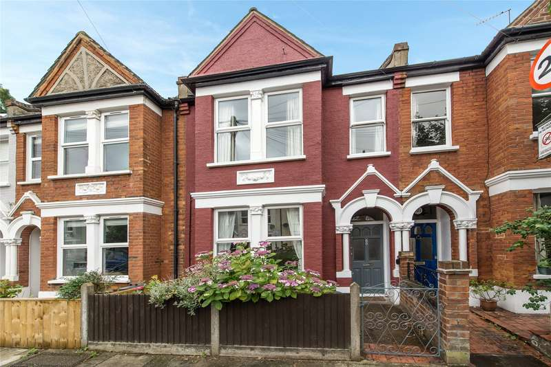 2 Bedrooms Terraced House for sale in Strathville Road, Southfields, London, SW18