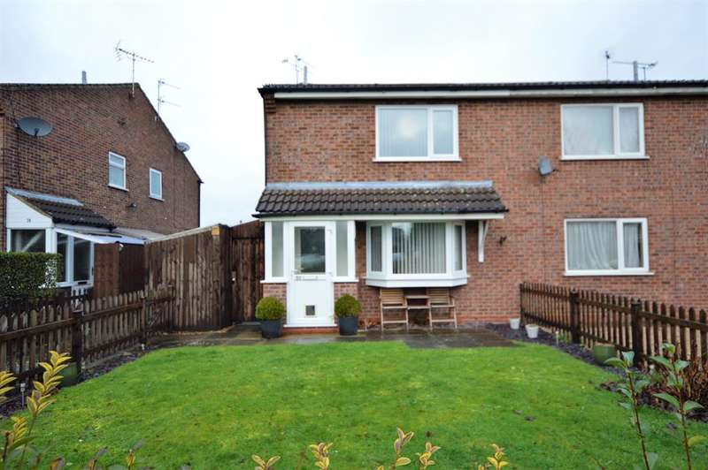 1 Bedroom Cluster House for sale in Penney Close, Wigston, LE18 1AN
