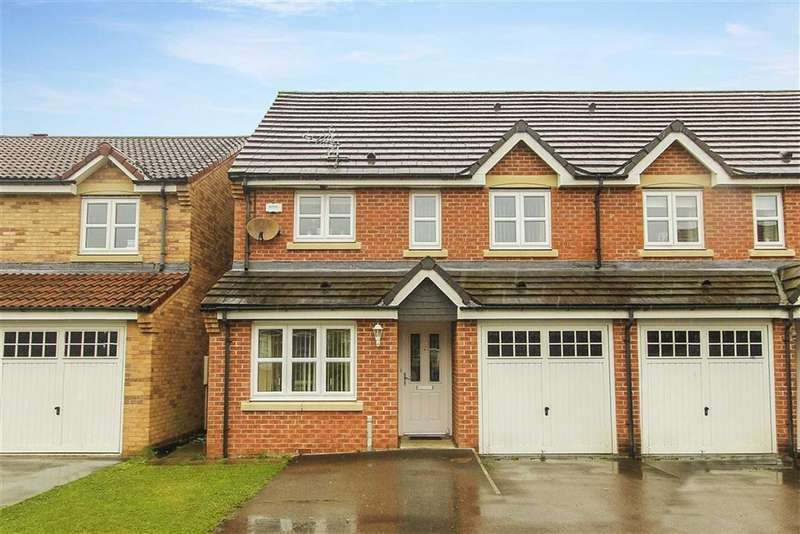 3 Bedrooms Semi Detached House for sale in The Brambles, New Hartley, Tyne And Wear