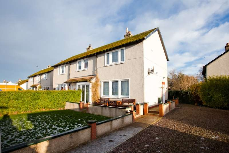 3 Bedrooms Semi Detached House for sale in Seaforth Road, Nairn, Highland, IV12