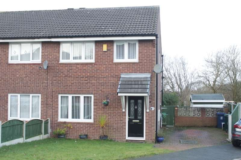 3 Bedrooms Semi Detached House for sale in Foxfold, Skelmersdale, Lancashire, WN8