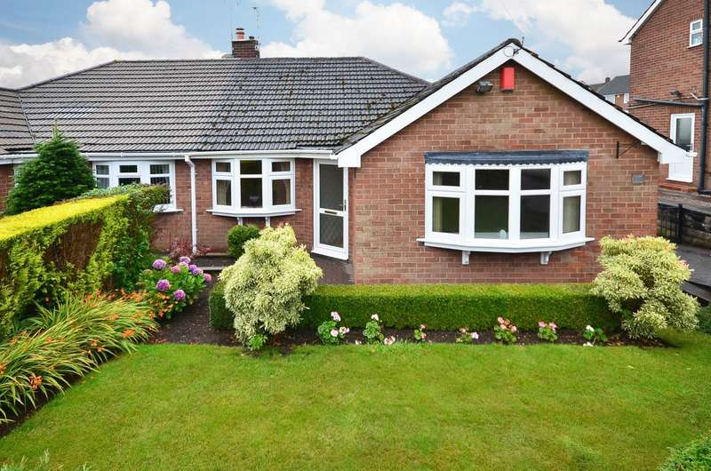 2 Bedrooms Semi Detached Bungalow for sale in ****NEW**** Combe Drive, Meir Heath, ST3 7LB