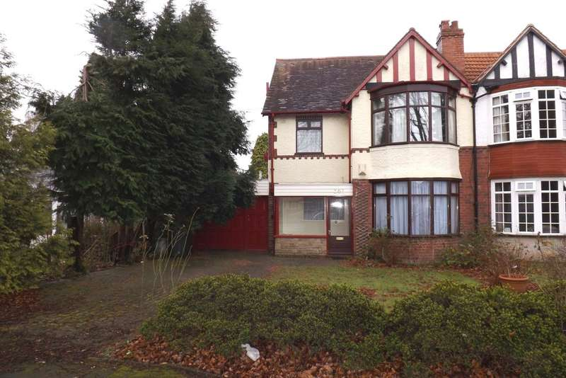 3 Bedrooms Semi Detached House for rent in Highfield Road, Hall Green, Birmingham
