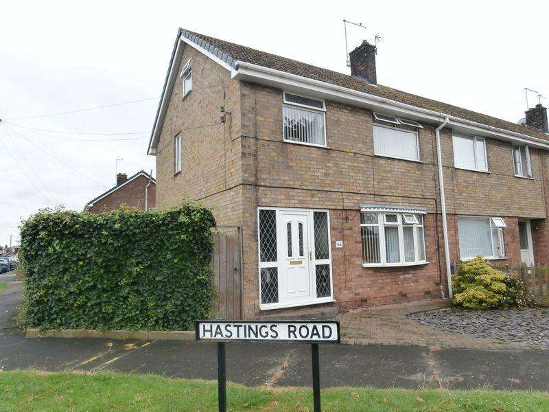 3 Bedrooms Terraced House for sale in Hastings Road, Thorngumbald,