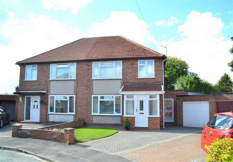 3 Bedrooms Semi Detached House for sale in Berwick Grove, Little Sutton, CH66