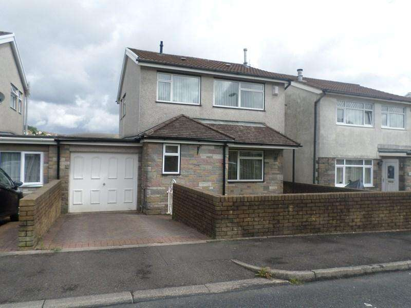 3 Bedrooms Link Detached House for sale in Caemawr Gardens, Porth