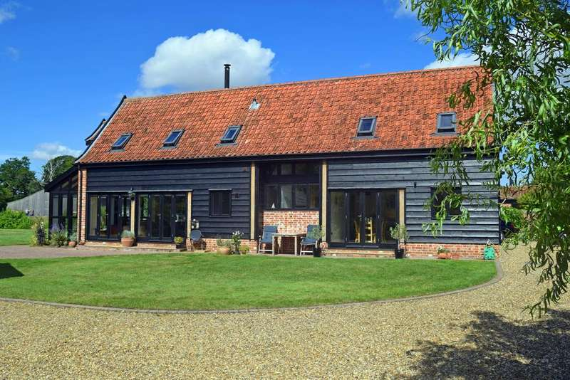 4 Bedrooms Barn Character Property for sale in Little Stonham
