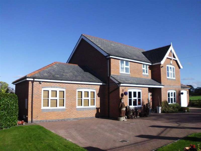 4 Bedrooms Detached House for sale in Bear House, Crew Green, Powys, SY5