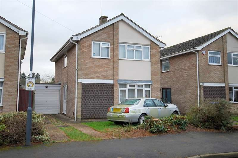 4 Bedrooms Detached House for sale in Montague Road, Woodlands Estate, RUGBY, Warwickshire