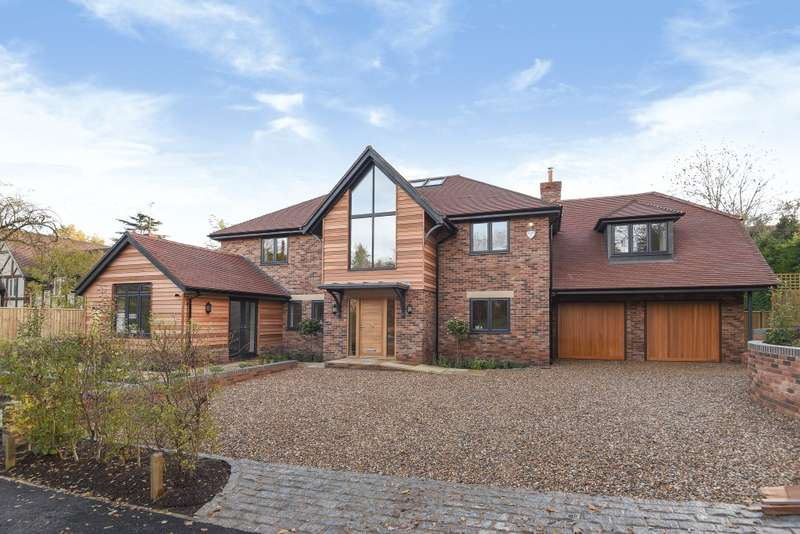 4 Bedrooms Detached House for sale in Green Lane, Pangbourne, RG8