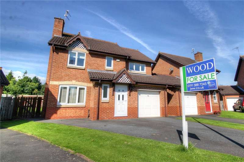 4 Bedrooms Detached House for sale in Bradman Drive, Riverside, Chester-Le-Street, DH3