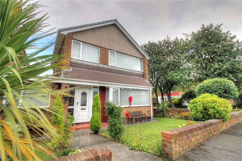 3 Bedrooms Link Detached House for sale in Caxton Way, North Lodge, Chester Le Street, DH3