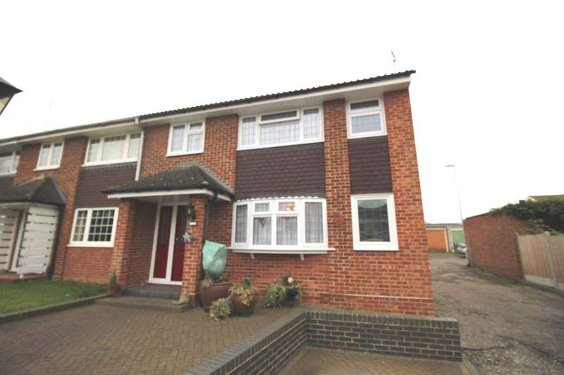 3 Bedrooms End Of Terrace House for sale in Ashurst Way, Chelmsford