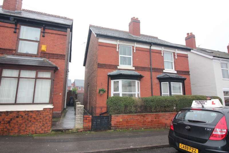 2 Bedrooms Semi Detached House for sale in King Edward Street, Darlaston