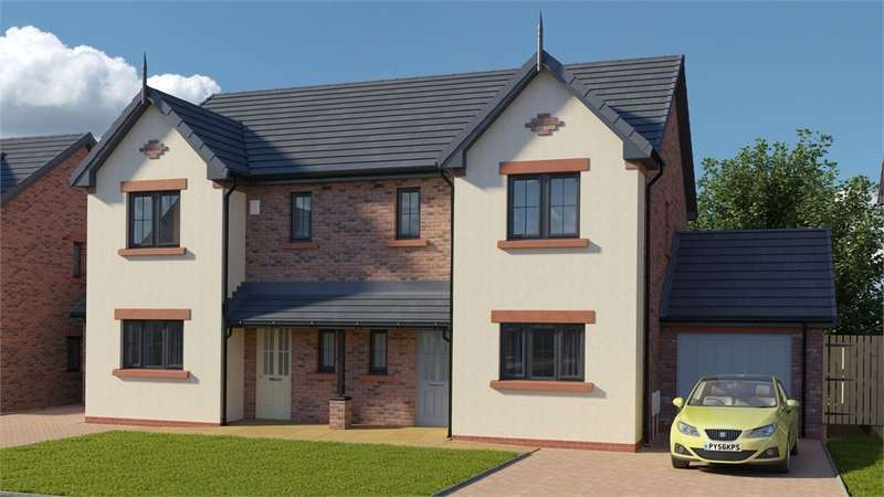 3 Bedrooms Semi Detached House for sale in CA7 9HQ The Gelt, St Cuthberts, WIGTON, Cumbria